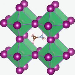 CH3NH3PbI3 structure